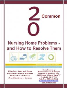 20 Common Nursing Home Problems