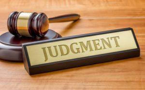 Judgmnet Against an Estate