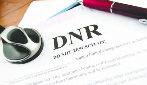 do not resuscitate order | DNR