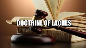 doctrine of laches