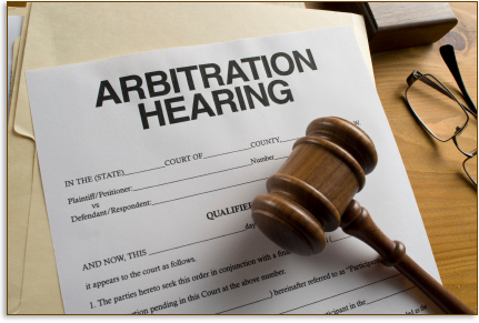 Image result for binding arbitration