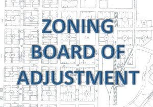 zoning board of adjustment